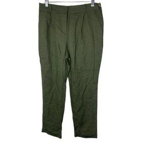 HAVE Los Angeles Green Straight Leg Cropped Pants